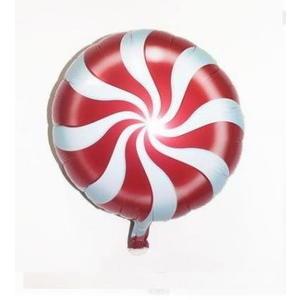 紅色棒棒糖氣球(未充氣)~~求婚道具/婚禮 生日 耶誕節 尾牙佈置