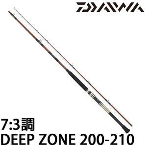 漁拓釣具 DAIWA 16 DEEP ZONE 200-210 (船釣竿)