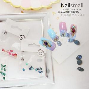 天然鮑魚貝殼石 天然貝殼粉 貝殼碎片鲍鱼片《NailsMall美甲美睫批發》