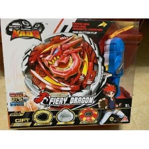 颶風戰魂陀螺  高級系列-烈破炎龍(紅色-大盒)(YM634402)←戰鬥陀螺 發射器 陀螺盤