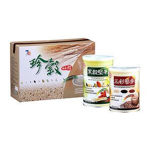 【台糖】珍穀禮盒《黑穀堅果+三彩藜麥》