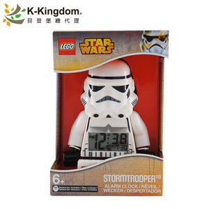 【LEGO 樂高鬧鐘】星際大戰系列 風暴兵 Stormtrooper 9002137