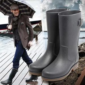 防水防滑套鞋中筒水鞋膠鞋雨靴戶外雨靴成人雨鞋