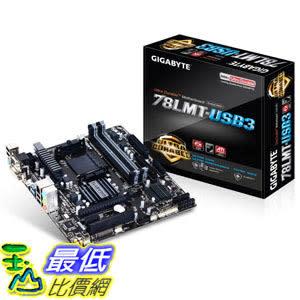 [104美國直購] 主機板 Gigabyte AM3+ AMD DDR3 1333 760G HDMI USB 3.0 Micro ATX Motherboard GA-78LMT-USB3