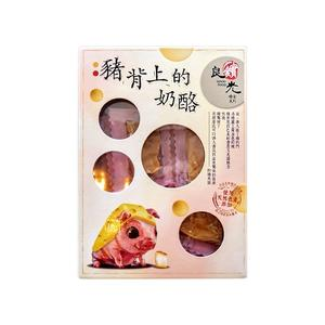 良實糧食 豬背上的奶酪(180g)【小三美日】團購/零嘴※禁空運