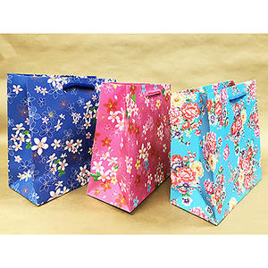 Boman 寶美 客家花布 紙手提袋(S) M7510