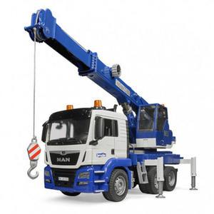 BRUDER MAN 藍色吊車組_RU3770