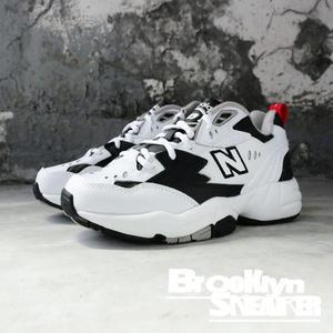 NEW BALANCE 608 NB IU 白黑 復古 老爹鞋 男女 情侶鞋 (布魯克林) WX608RB1