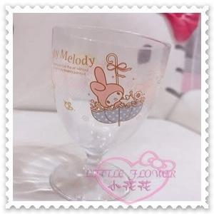 ♥小花花日本精品♥Hello Kitty 美樂蒂Melody玻璃杯雨傘點點小鳥居家必備送禮首選 11035909