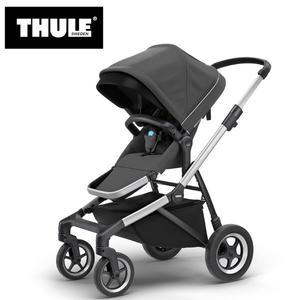 【愛吾兒】瑞典 THULE Thule Sleek推車 巨石灰