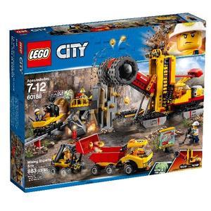 【LEGO 樂高積木】City 城市系列-採礦專家現場  LT-60188