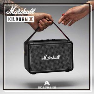 【愛拉風】下殺4000 現貨秒寄 Marshall Kilburn II 攜帶式藍牙喇叭 經典黑 馬歇爾 KILBURN2