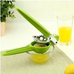 【Love Shop】手壓式柳丁榨汁器 擠壓器 迷你榨汁機 蔬果汁壓汁器榨柳丁汁檸檬汁廚房用品 翡翠檸檬