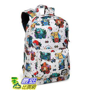 [美國直購] ThinkGeek 背包 Pokemon Tattoo Flash Backpack 神奇寶貝 精靈寶可夢周邊