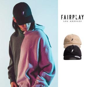 【GT】FairPlay Pops 黑卡其 帽子 休閒 復古 布面 刺繡 美牌 現貨 老帽 棒球帽 鴨舌帽 可調式