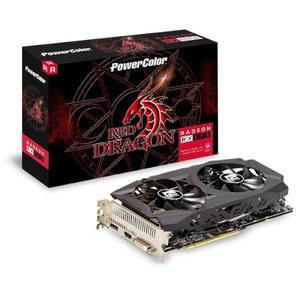PowerColor 撼訊 紅龍 RX 590 8GB GDDR5 顯示卡 (AXRX 590 8GBD5-DHD)