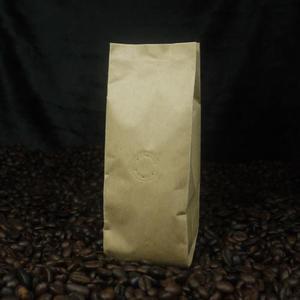 東尚咖啡袋FK060+V 2oz牛皮紙袋夾邊合掌封袋=50個/盒(有氣閥)