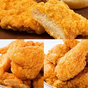 【KK Life-紅龍免運組】香酥勁嫩炸雞3件組 (炸雞翅5隻/炸雞腿5隻/炸雞腿堡5片)