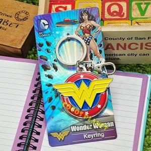 正版授權 DC英雄 蝙蝠俠對超人:正義曙光 神力女超人 LOGO 鑰匙圈 鎖圈 吊飾 掛飾 COCOS GL288