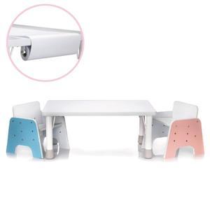 台灣 ilovekids 我的第一張小桌子+椅子+紙捲架