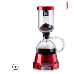 電動虹吸式咖啡壺家用 觸屏玻璃虹吸壺 手動磨豆煮咖啡機套裝 MKS卡洛琳