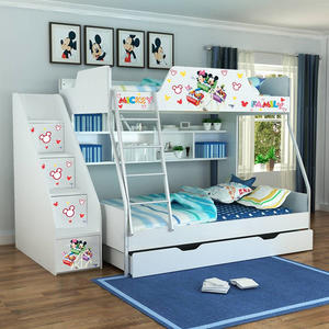 [首雅傢俬] MIT 迪士尼 雙人 上下舖 米奇 高低床 雙層床 兒童床 書櫃床 上下床
