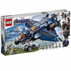 樂高LEGO SUPER HEROS 超級英雄 復仇者聯盟 終極昆式戰鬥機 76126 TOYeGO 玩具e哥