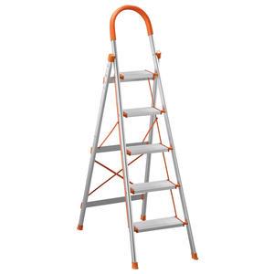 【森可家居】鋁製五層步梯 8SB387-6 鋁梯