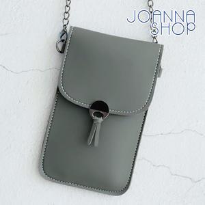 手機包 小流蘇透明手機格斜背包-Joanna Shop