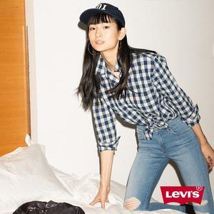 Levis 襯衫 女裝 / 黑白格紋