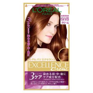 LOREAL Paris 巴黎萊雅 優媚霜三重護髮雙管染髮霜 6WB 紅銅棕