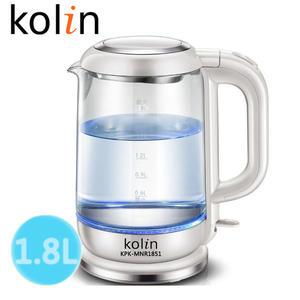 快速出貨★ Kolin 歌林LED玻璃快煮壺(KPK-MNR1851)