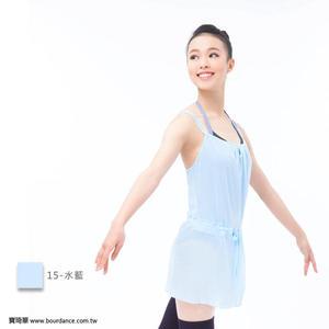 *╮寶琦華Bourdance╭*專業瑜珈韻律芭蕾☆無袖抓皺連身罩衫★【BDW15B21】