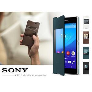 Z3+ 原廠智慧型皮套 SCR30 Sony Xperia Z4 側掀式保護套 原廠皮套 視窗皮套【3G3G手機網】