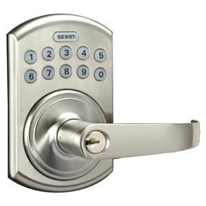 EZSET東隆電子鎖 PTRS0S00 按鍵式密碼扳手鎖 二合一 適用門厚35~51mm 原廠保固一年