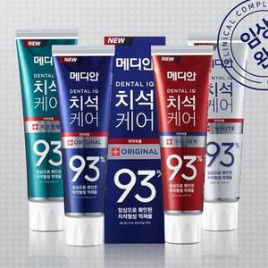 韓國 Median 93%強效淨白牙膏 120g 升級版 牙膏 口腔清潔