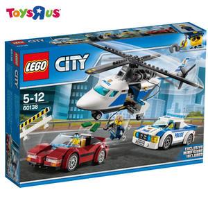 玩具反斗城   LEGO 樂高 60138 高速追捕