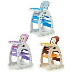 Mother's love 多功能餐桌椅 (藍/紫/咖啡)