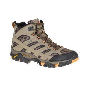 [Merrell] 男 MOAB 2 MID GTX 中筒登山鞋 棕 (ML06057) 秀山莊戶外用品旗艦店