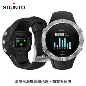SUUNTO Spartan Trainer HR全方位訓練與積極生活GPS運動腕錶-精鋼黑