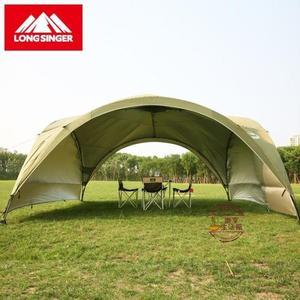 天幕帳篷戶外遮陽棚超大防紫外線廣告帳篷自駕遮陽天幕涼棚4.5M*高2.28M·樂享生活館liv