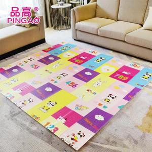 【200CM*180CM 折疊款】寶寶爬行墊加厚可折疊 嬰兒童爬爬墊家用泡沫地墊 客廳遊戲毯拼接