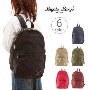 日本Legato Largo輕量防潑水 10個內袋雙層後背包 4色可選【JE精品美妝】