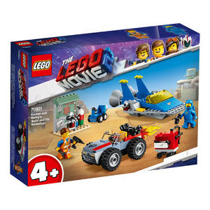 LEGO樂高 樂高玩電影2 70821 Emmet and Benny's 'Build and Fix' Workshop! 積木 玩具