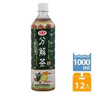 【免運】愛之味油切分解茶1000ml(12瓶/箱)【合迷雅好物超級商城】
