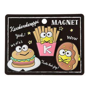 Sanrio 大眼蛙黑板塗鴉系列矽膠造型磁鐵組(一組3個入)★funbox★_379000