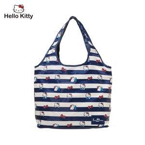 Hello Kitty - 摺疊購物袋-深藍 FPKT0B002NY