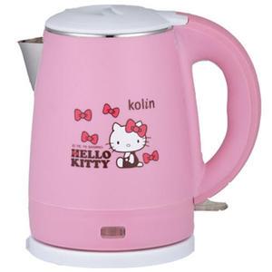 kolin  歌林 Hello Kitty 雙層隔熱不銹鋼快煮壺 KPK-MNR1032  (神腦公司貨)