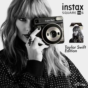 【SQ6 泰勒絲Taylor Swift聯名款 相機加底片套組】Norns 限量特別版 親筆簽名 拍立得 公司貨 instax SQUARE