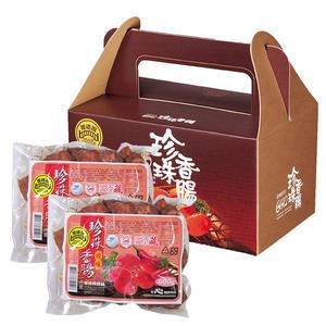 【黑橋牌】二斤辣味珍珠香腸禮盒 -真空包裝